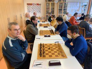 Schach in Merzhausen, Angst vor CoronaVirus spielt mit